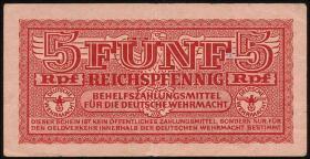 R.508A: 5 Reichspfennig Stempel Saloniki (3)