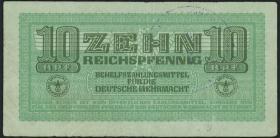 R.509A: 10 Reichspfennig  Stempel Saloniki (3)