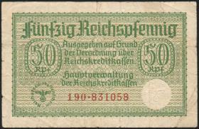 R.550a:  50 Rpfg. (1939) Reichskreditkasse (4)