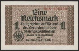 R.551b:  1 Reichsmark (1939) Reichskreditkasse (1)