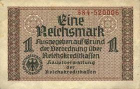 R.551b: 1 Reichsmark (1939) Reichskreditkasse (3)
