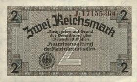 R.552F: 2 Reichsmark (1939) braune KN (1)