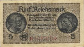 R.553b:  5 Reichsmark (1939) Reichskreditkasse (3)