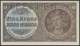 R.558b: Böhmen & Mähren 1 Krone 1940 (1)