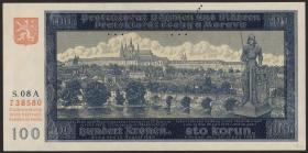 R.560c: Böhmen & Mähren 100 Kronen 1944 (1)