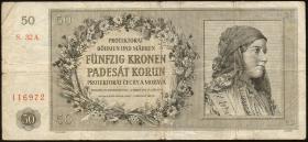 R.564a: Böhmen & Mähren 50 Kronen 1944 (4)