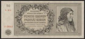 R.564c: Böhmen & Mähren 50 Kronen 1944 (1)