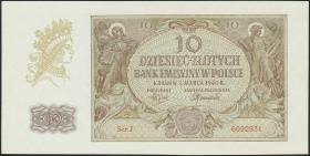 R.574a: Generalgouv. Polen 10 Zloty 1940 (1/1-)
