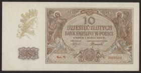 R.574b: Generalgouv. Polen 10 Zloty 1940 (1-)