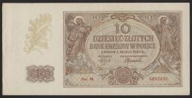 R.574b: Generalgouv. Polen 10 Zloty 1940 (2)
