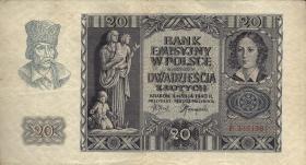 R.575: Generalgouv. Polen 20 Zloty 1940 (3)