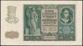 R.576: Generalgouv. Polen 50 Zloty 1940 (2)