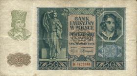 R.576: Generalgouv. Polen 50 Zloty 1940 (4)