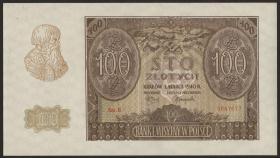 R.577: Generalgouv. Polen 100 Zlotych 1940 (1/1-)