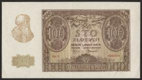 R.577: Generalgouv. Polen 100 Zloty 1940 (2)