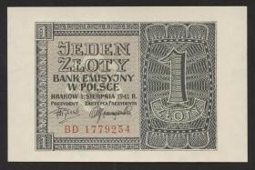 R.579b: 1 Zloty 1941 (1)