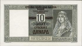 R.600: Serbien 10 Dinara 1941 (1)