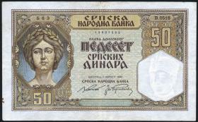 R.604: Serbien 50 Dinara 1941 (3)