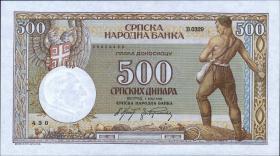 R.609: Serbien 500 Dinara 1942 (1)