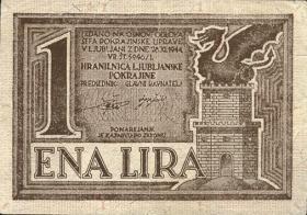 R.618: Laibach 1 Lire 1944 (2)