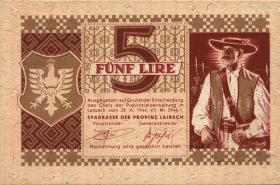 R.620: Laibach 5 Lire 1944 (1)