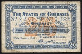 R.637: 2 Shillings / 6 Pence 1941 (4)