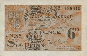 R.656e: Jersey 6 Pence 6-stellig (1)