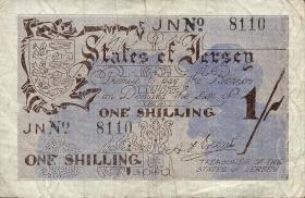 R.657c: Jersey 1 Shilling 4-stellig (3)