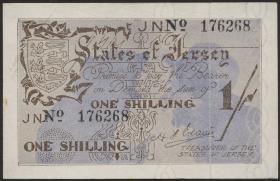 R.657e: Jersey 1 Shilling 6-stellig (1)