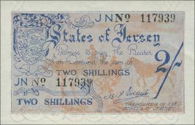 R.658b: Jersey 2 Shillings 6-stellig (1)