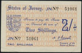 R.659c: Jersey 2 Shillings 5-stellig (2)