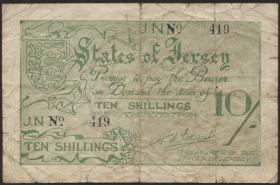 R.660b: Jersey 10 Shillings 3-stellig (4)