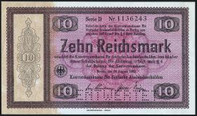 R.701E1: Konversionskasse 10 Reichsmark 1933 (1/1-)