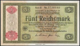 R.708a: Konversionskasse 5 Reichsmark 1934 (1-)