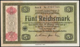 R.708b: Konversionskasse 5 Reichsmark 1934 (1-)