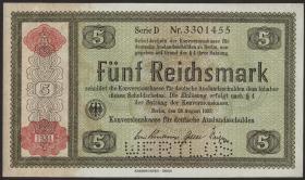 R.708E2: Konversionskasse 5 Reichsmark 1934 (1-)