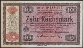 R.709a: Konversionskasse 10 Reichsmark 1934 (1)