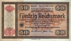 R.712a: Konversionskasse 50 Reichsmark 1934 (1)