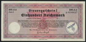 R.716b: Steuergutschein 100 Reichsmark 1939 (Januar 1940) (2)