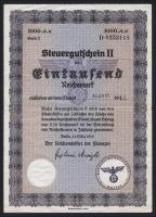 R.726c: Steuergutschein 1000 Reichsmark 1939 (August 1942) (2)
