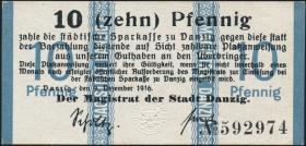 R.784a: Danzig 10 Pfennig 1916 (1/1-)
