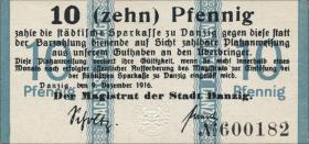 R.784a: Danzig 10 Pfennig 1916 (1)
