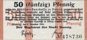 R.785: Danzig 50 Pfennig 1916 (1)