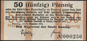 R.785: Danzig 50 Pfennig 1916 (1/1-)