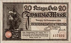R.789: Danzig 20 Mark 1918 (1)