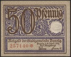 R.790: Danzig 50 Pfennig 1919 (1)