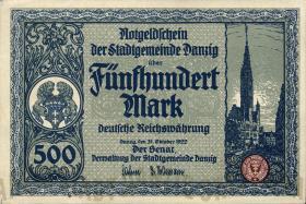 R.793: Danzig 500 Mark 1922 (1)