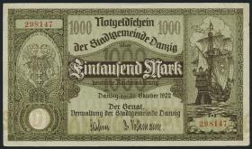 R.794: Danzig 1000 Mark 1922 (2)