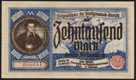 R.799: Danzig 10000 Mark 1923 (1/1-)
