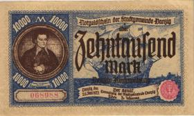 R.799: Danzig 10000 Mark 1923 (2)